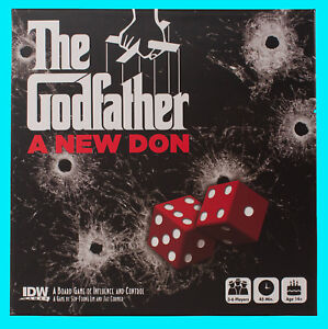 THE-GODFATHER-A-NEW-DON-BOARD-GAME-Brand-NEW-Factory-Sealed-IDW-Dice-Games-2016