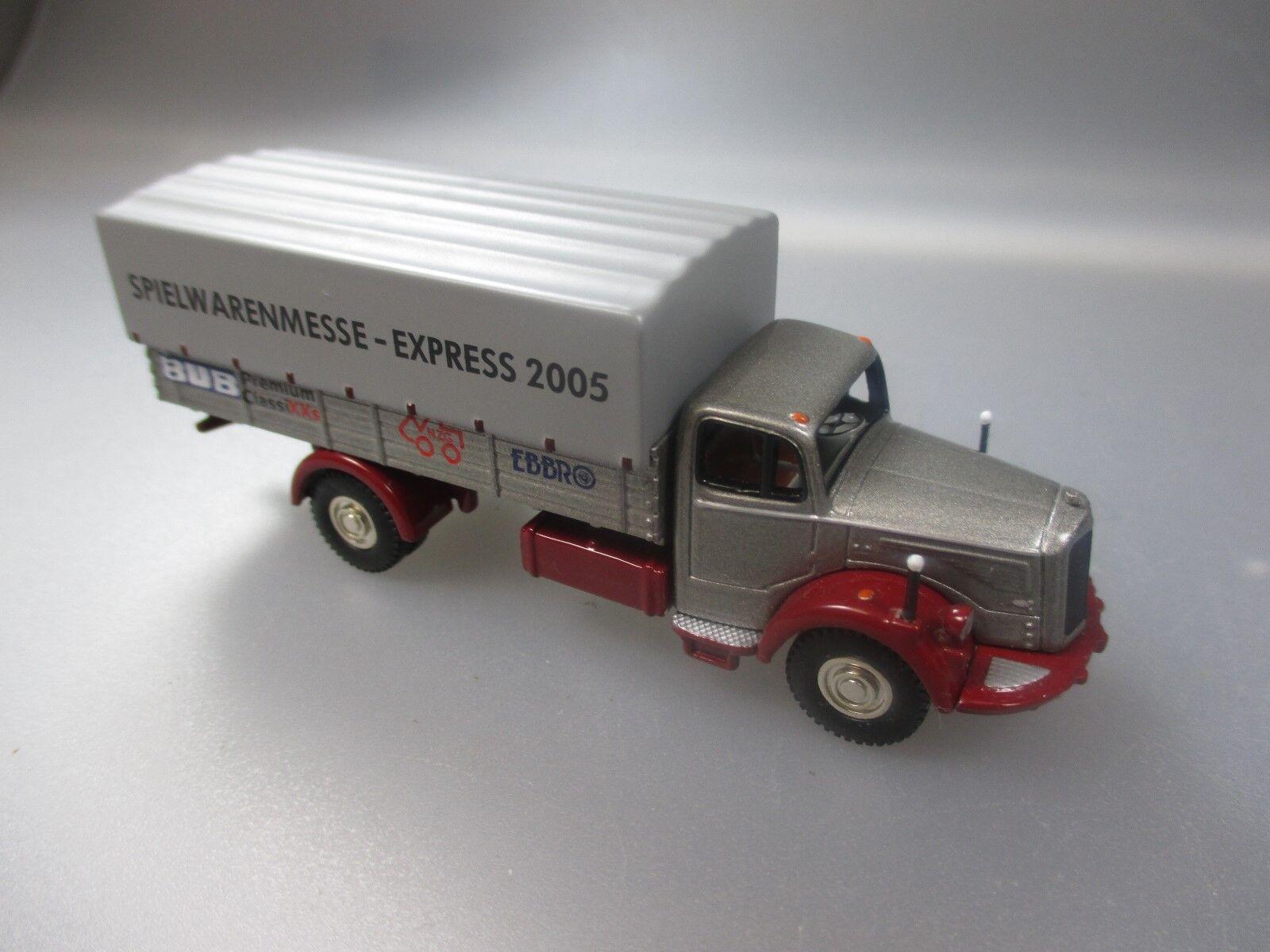 Bouèbe SCALE 1 87 BUBMOBILE  Modèle Spécial, camions, Edition foire 2005 (gk5)