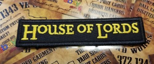 House of Lords  patch