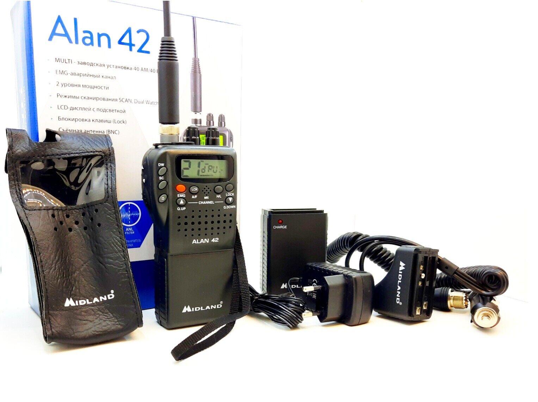 Midland C1330 Antenne CB LUX 700-PL sans Connexion par c/âble PL Longueur 900mm Noir