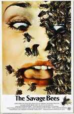 Savage Bees Poster 01 Metal Sign A4 12x8 Aluminium