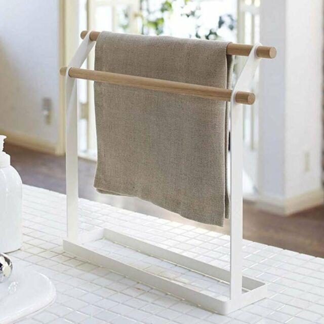 Standing Towel Holder Hanger Stand