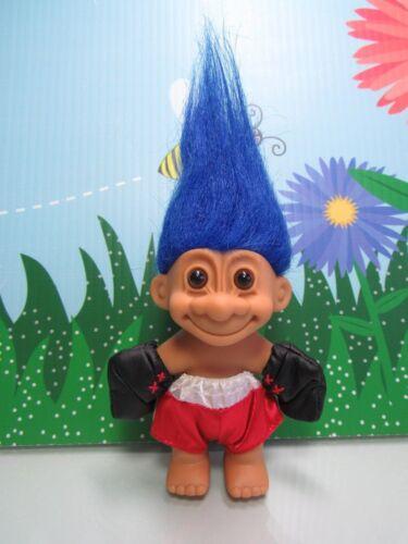 "Blue Hair BOXER 5/"" Russ Troll Doll NEW IN ORIGINAL WRAPPER"