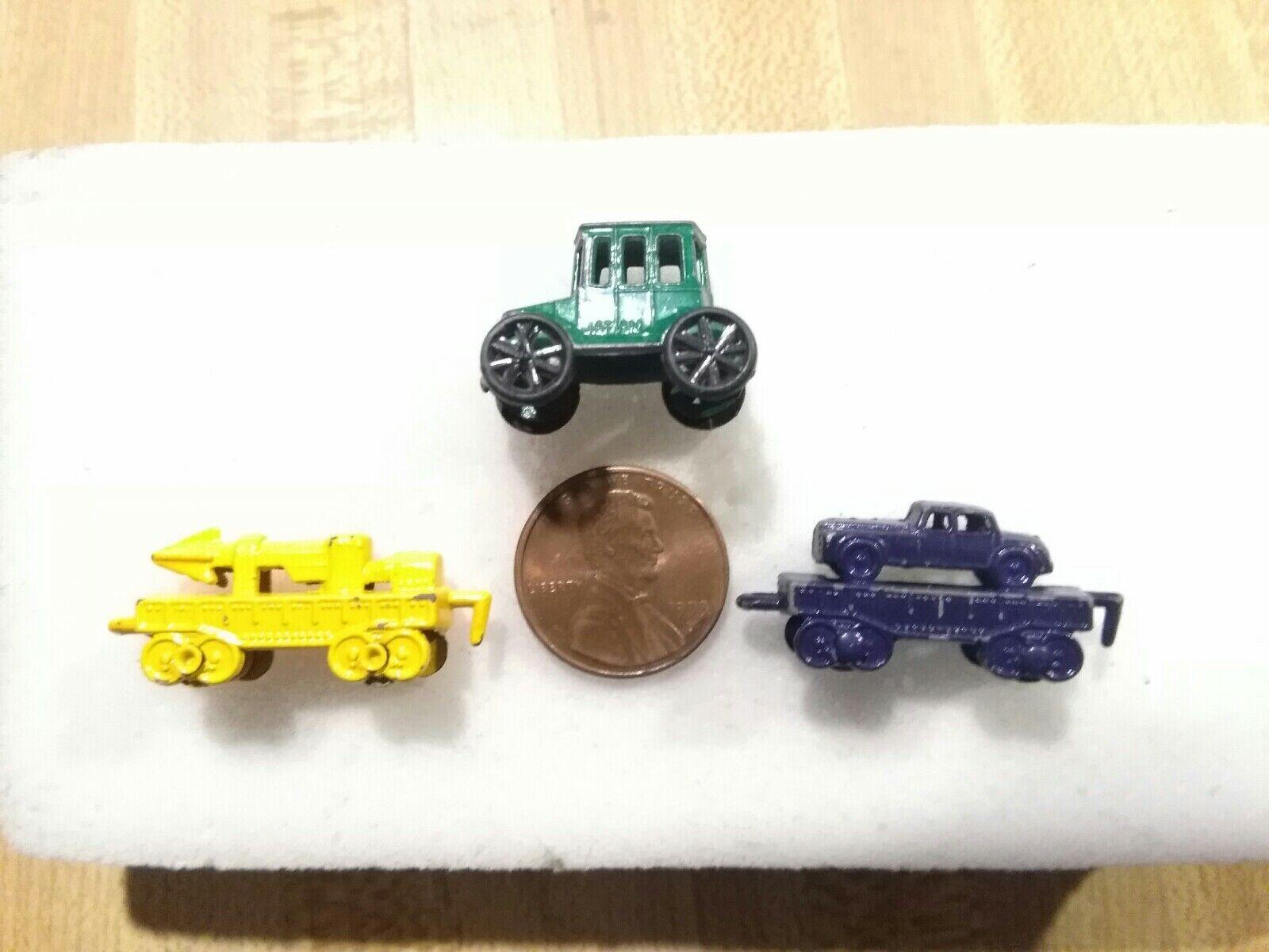 Vintage 1950's Mini Die Cast Toys
