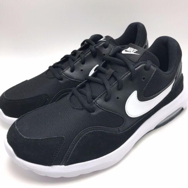 online store 93eff c18d7 Nike Air Max Nostalgic Men s Running Shoes Black White 916781-002