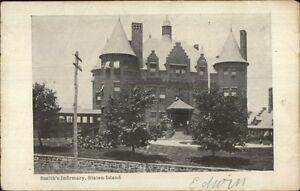 Smith-039-s-Infirmary-Staten-Island-NY-c1905-Postcard