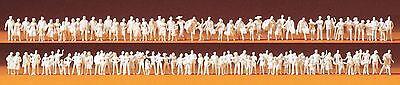 Sezione Speciale Preiser 79008 Spur N Viaggiatori, Passanti, 120 Unbemalte Personaggi (1:160), Kit-mostra Il Titolo Originale