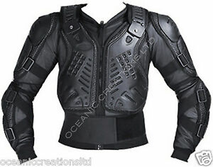 MX Enduro Motorradjacke Bionisch Körper Protektor Motorrad Jacke Gr. XS - 8XL DE