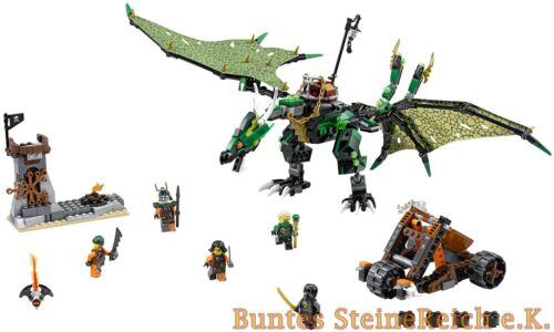 70593 des énergies vertes-Dragon /& 0 LEGO ® Ninjago € expédition /& OVP /& NOUVEAU!