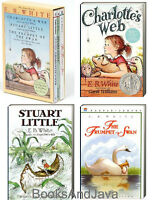 Charlotte's Web,stuart Little,trumpet Of The Swan (pb) E B White - Boxed Set