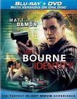 Bourne Identity 2002 W DVD 0025192059056 Blu Ray Region a