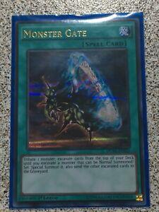 DUSA-EN055-Monster-Gate-Ultra-Rare-1st-Edition-Mint-YuGiOh-Card