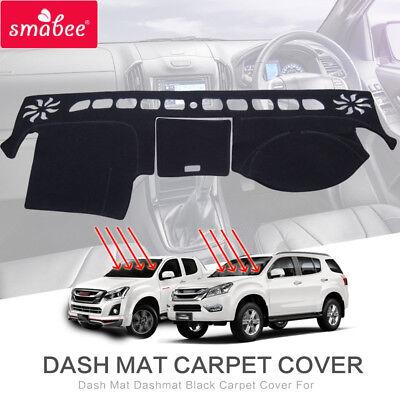 LHD Interior Dashboard Dash Mat Cover For Isuzu D-max Dmax Pickup 2012-2018