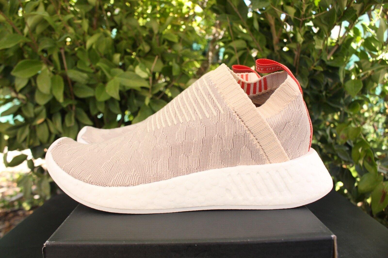 pk s adidas nmdcs2 pk  sz 10 nmd_cs2 cq2039 linge blanc primeknit nuages gris a7a517