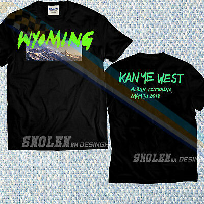 Wyoming Kanye West Kim Kardashian YE Album T-shirth Limited Gildan Merch T-SHIRT