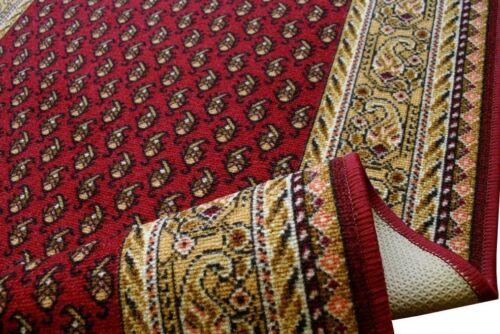 """feiner Teppich Läufer /""""AW MIR klassik Rot/"""" 67 cm breit"""