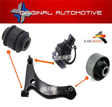 FITS MITSUBISHI GRANDIS 2003-2009 FRONT LOWER WISHBONE ARM BALLJOINT & BUSHS KIT