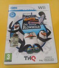 U Draw I Pinguini di Madagascar Il Ritorno del Dottor Blowhole! GIOCO WII