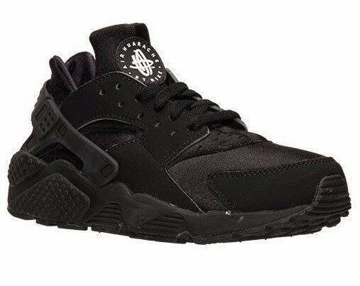 NIKE AIR  HUARACHE RUN  RUNNING SHOES BLACK MEN'S SELECT YOUR SIZE