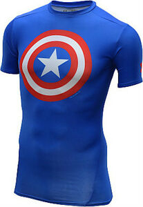 0a16a30ff9a8 Image is loading Under-Armour-Alter-Ego-Compression-Short-Sleeve-Shirt-
