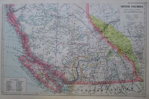 1919-MAP-BRITISH-COLUMBIA-SOUTH-VANCOUVER-ISLAND-ROCKY-MOUNTAINS