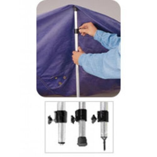 3 Piece Adjustable Taylor Cover Super Support Pole