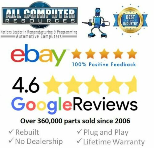 89661-0C640 Plug /& Play 2005 Toyota Tundra 4.7L ECU ECM PCM Engine Computer
