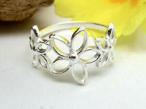 Silber-Ring-925-mit-3-Blueten-Blumen-Blumenring-Damenring