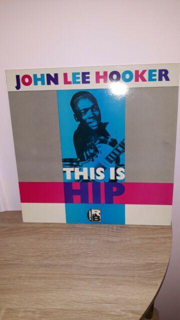 John Lee Hooker This Is Hip Blues Vinyl LP