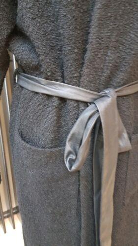Manteau Ceinture Laine Elvi Taille En Noir Mélangée Uk18 Nouveau Veste Manteau L Maxi qSITdnZwI