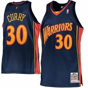 1c266c124a9 Image is loading Stephen-Curry-2009-10-Jersey-Golden-State-Warriors-