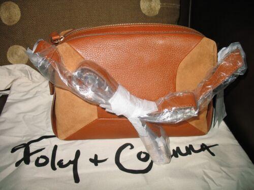 Crossbody Nwt FoleyCorinna Large Leren Kate Brown Honey H2WDIE9