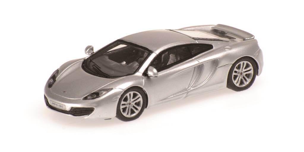 MINICHAMPS 877133022 McLaren mp4-12c, 2012 Argent échelle 1 87
