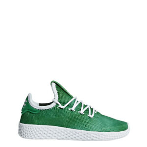 d3628fa68b05db NEW KID S ADIDAS ORIGINALS PW TENNIS HU (PS) SHOES  AQ0017  GREEN ...