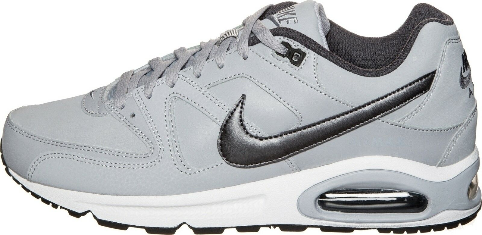 promo code 31a20 07811 where to buy nike air max command pelle nero bianca dark grigio bdd98 83485