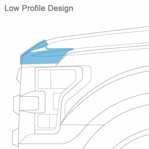 AVS 322120 Aeroskin Flush Mount Hood Protector for 2016-2019 Ford Explorer