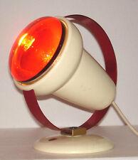stylische Art deco Lampe - Philips infraphil - design Charlotte Perriand um 1955