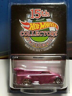 2015 Hot Wheels 15th Nationals Convention Lexington KY Drag Dairy pink