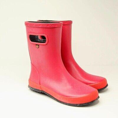 BOGS Kids Skipper Solid Waterproof Rain Boot
