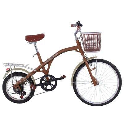Bicicleta retro vintage de rueda alta para adulto 26 pulgadas acero 6 marchas