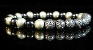 Lava-Obsidian-Pyrite-Bracelet-6mm