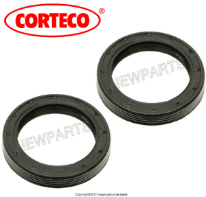 For Porsche 911 Set of 2 Front Left+Right Seal Differential Output OEM