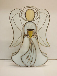 Stained-Glass-Angel-Candle-Holder