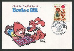 Animation, Cartoons Hearty France Mk 2002 Comic Boule & Bill Maximumkarte Carte Maximum Card Mc Cm D1161