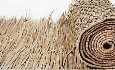 "33/"" X 60 FT Mexican Thatch Tiki PALM GRASS MAT ROLL BEST ON THE MARKET"