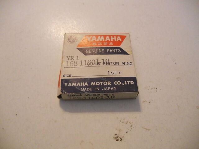 YR1 YR2 1967-68 Yamaha NOS Piston 1st O//S .25 J//M