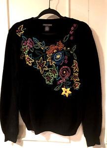 Nwt Xl Pullover Sort Sweater Broderet Theodore Women's Sz 98 Chelsea 4wqxzFEf6
