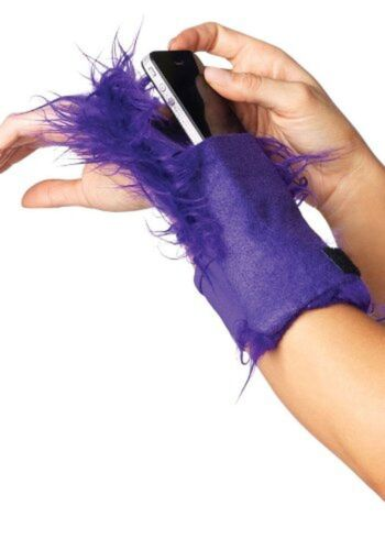 Furry Wrist Wallet Leg Avenue A2007