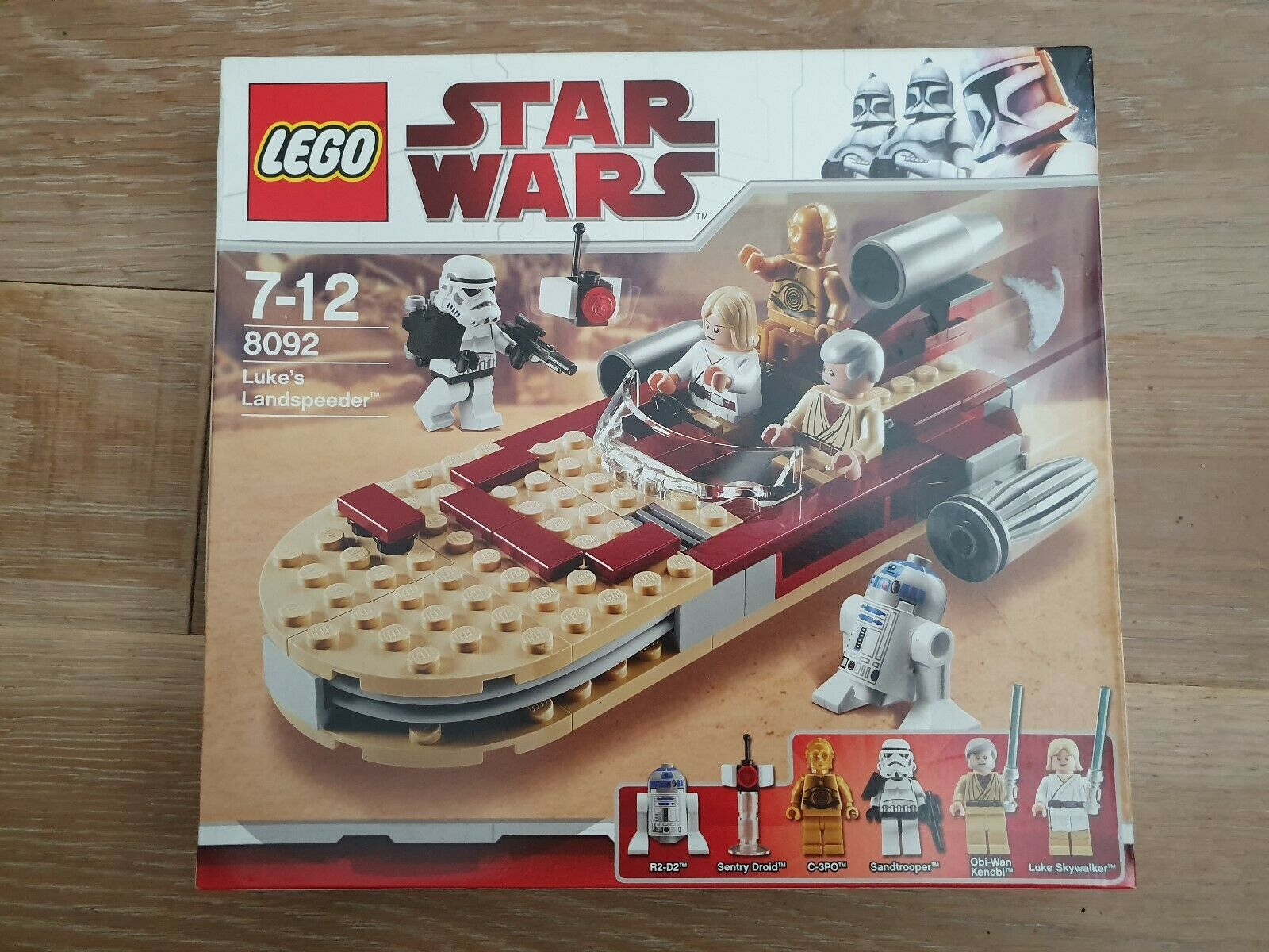 Lego Star Wars Set # 8092 Luke/'s Landspeeder Neuf Scellé