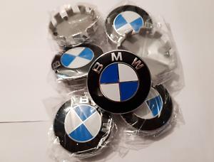 Pack-de-4-cache-moyeux-centres-de-roue-BMW-68mm-envoi-rapide-SUIVI-France